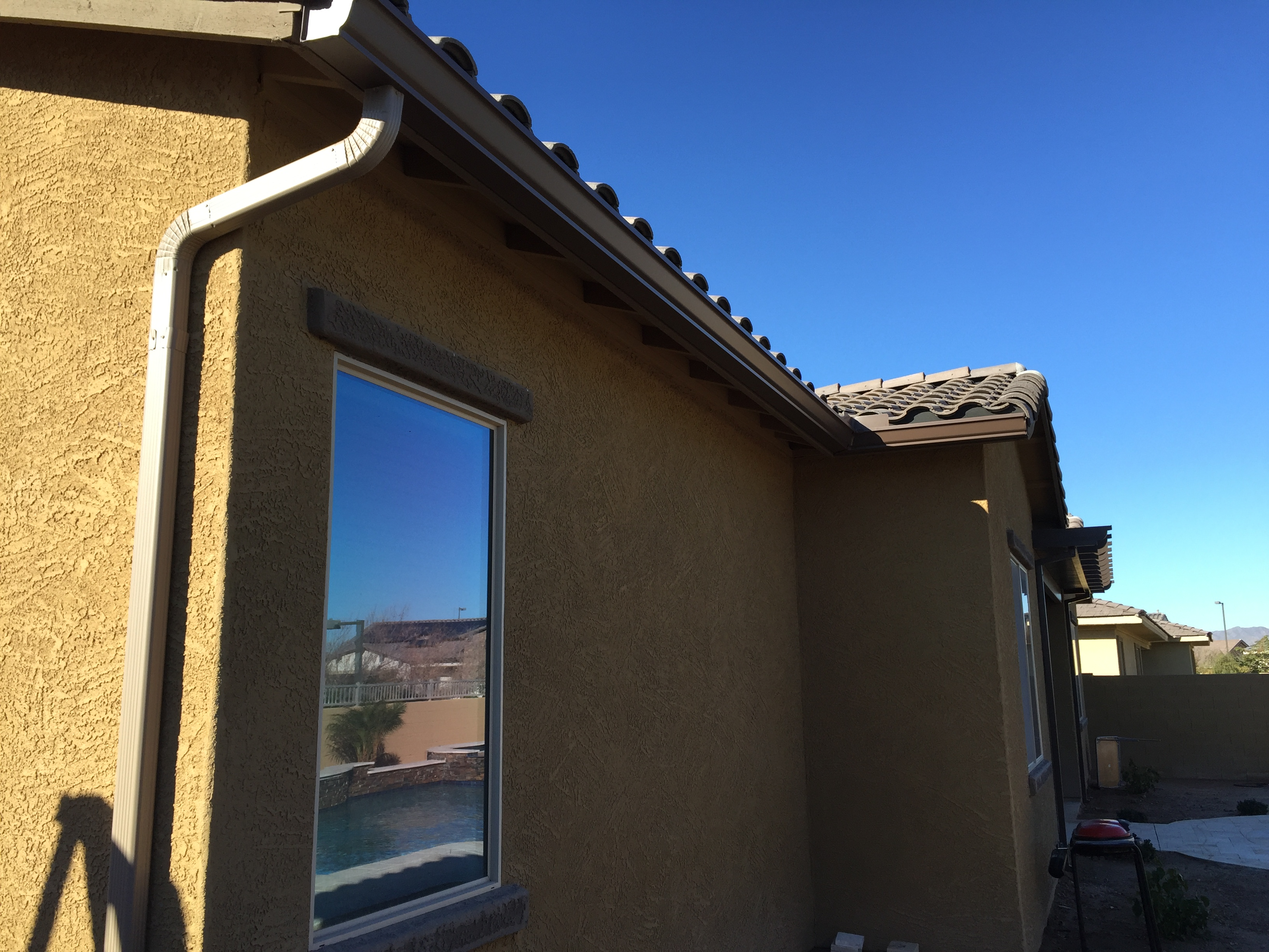 Rain Gutters in Gilbert, Arizona