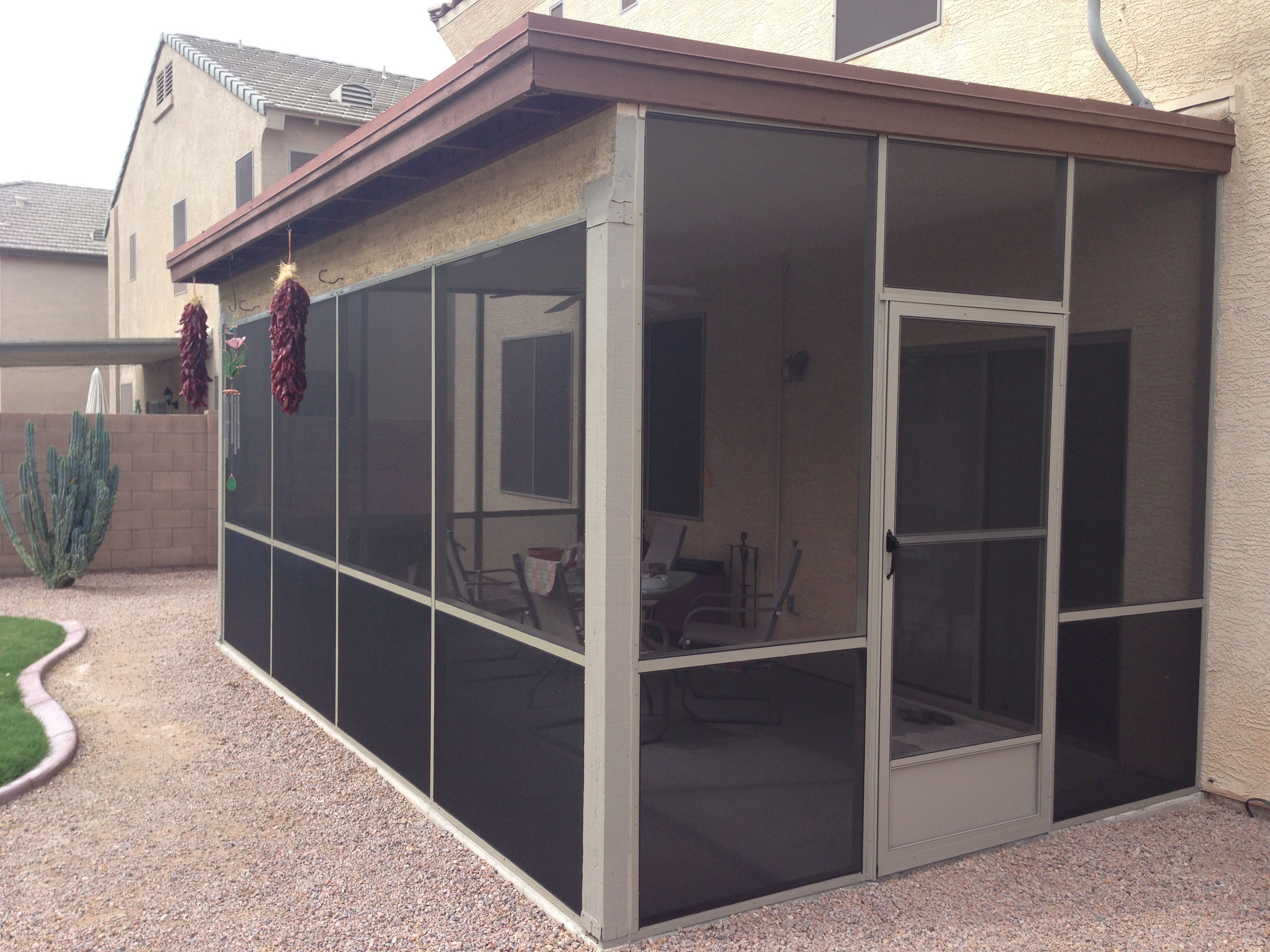 Screened Enclosures in Maricopa, Arizona