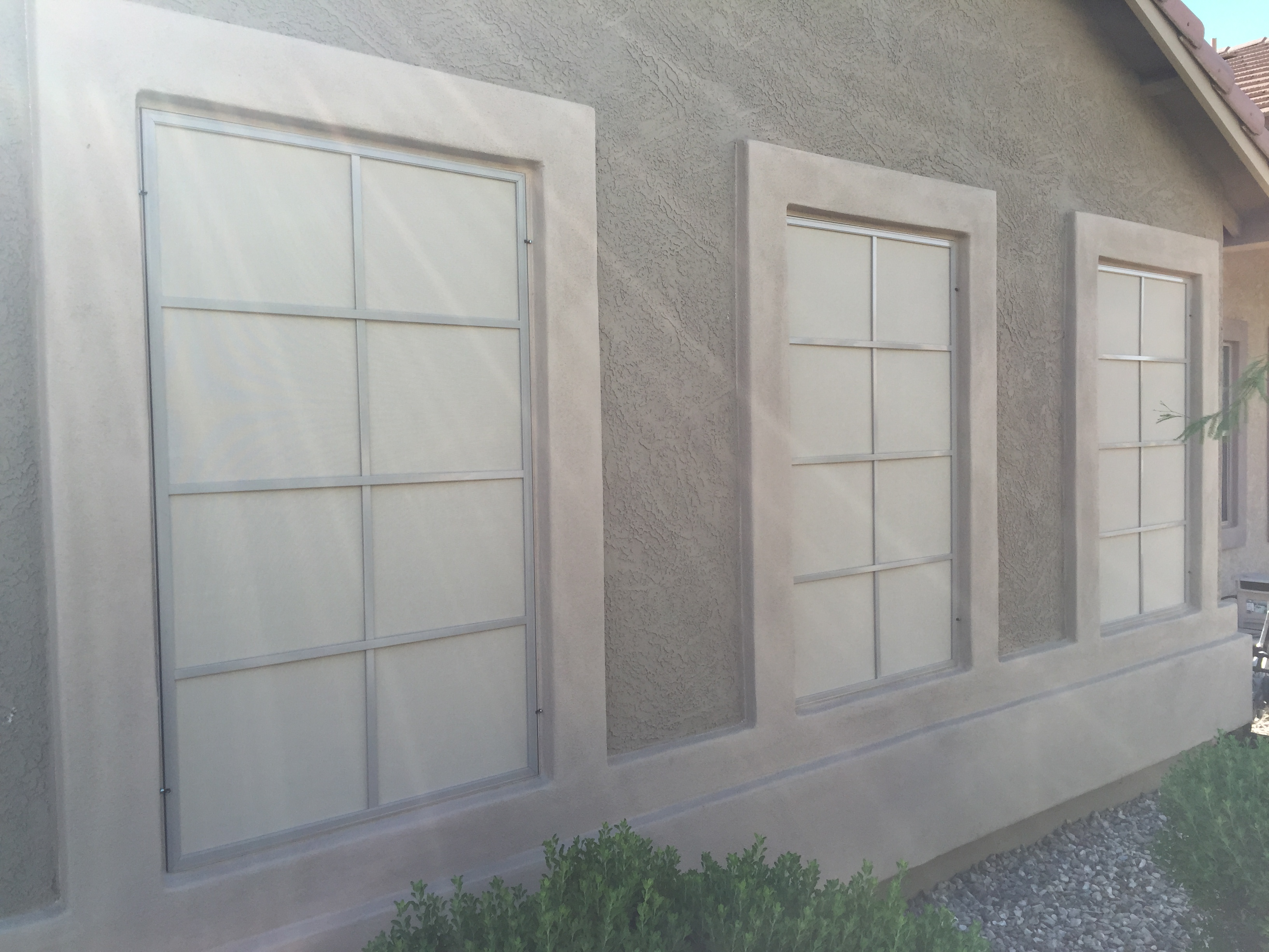 Solar screens in Buckeye, Arizona