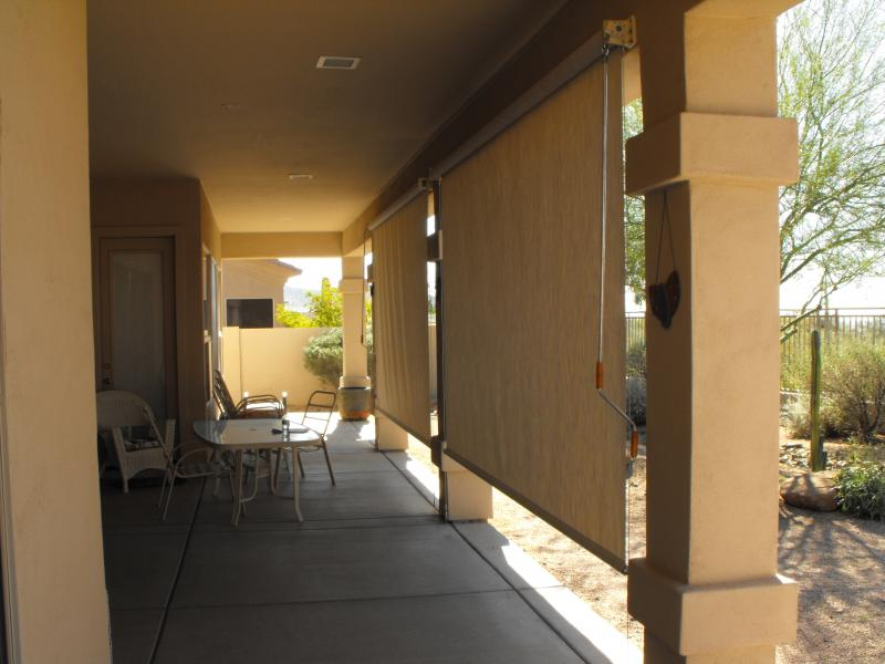 PATIO ROLL DOWN SHADES SCOTTSDALE, ARIZONA