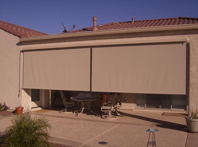 The Sunscreen Factory EXTERIOR SOLAR SHADES