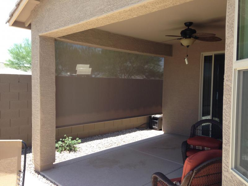Patio Screen Shade