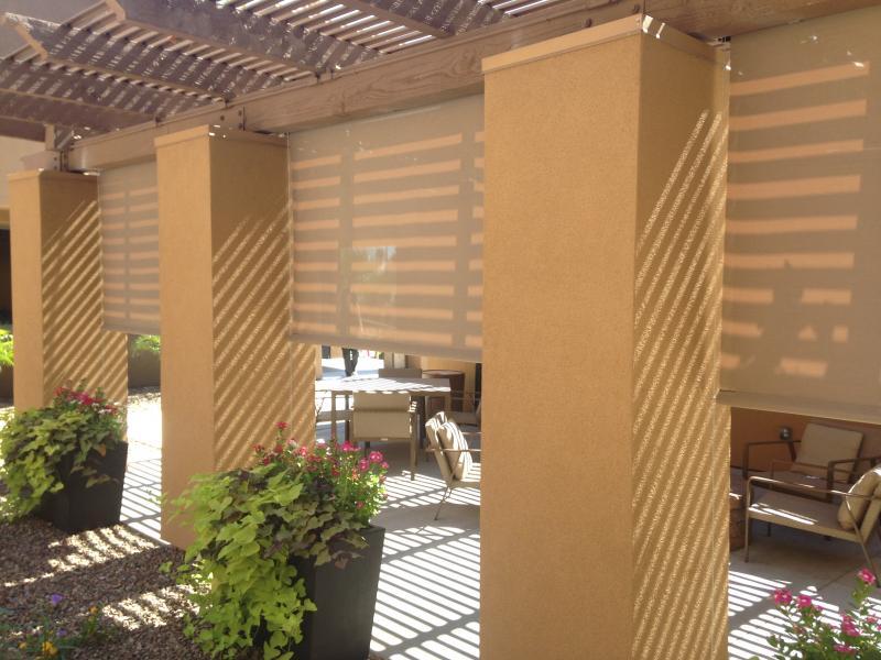 Patio Shades Crank System Sun City Festival,Buckeye,AZ