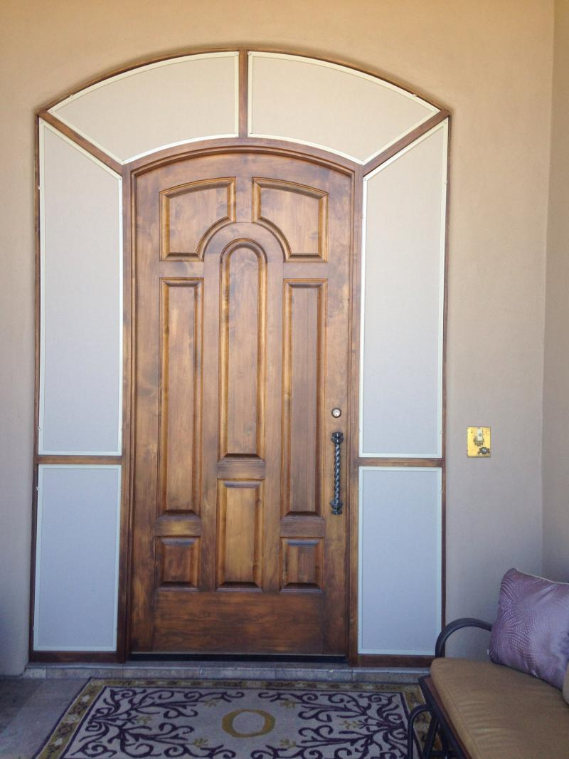 Sunscreens for Entrance Door