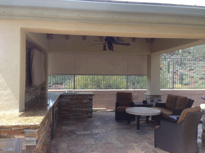 Motorized Patio Shades Phoenix,AZ
