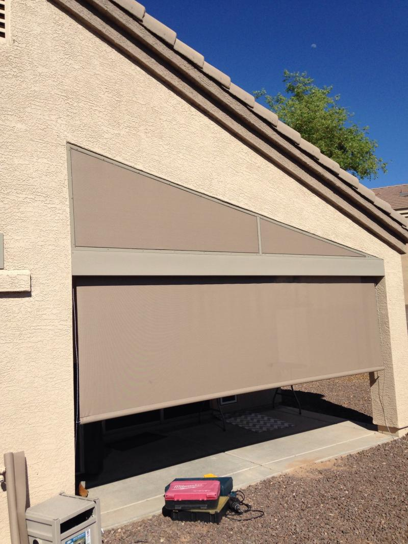 Roller Patio Screen Peoria,AZ
