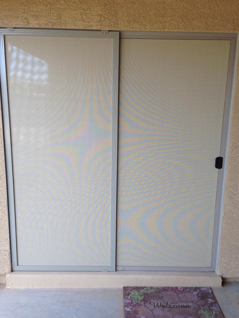 Slider Screen Door